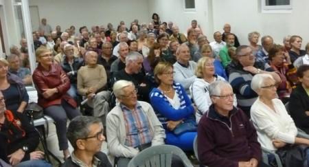 Un public nombreux et captivé pour cette conférence du CPC