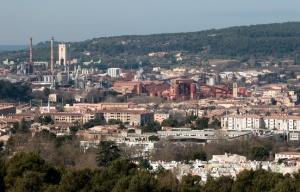 L'usine Alteo à Gardanne (photo P. Magnein - 20 minutes)