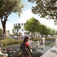 Logements et boulevard urbain en projet