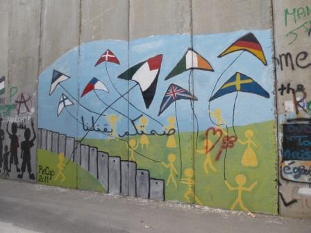 Fresque à Bethléem: qui s'intéresse encore aux souffrances des Palestiniens?