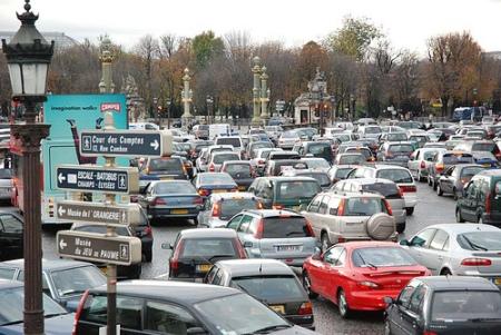 Paris, la deuxième ville la plus embouteillée de France, derrière Marseille...